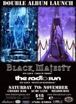 Saturday 7th Nov. Black Majesty & The Radio